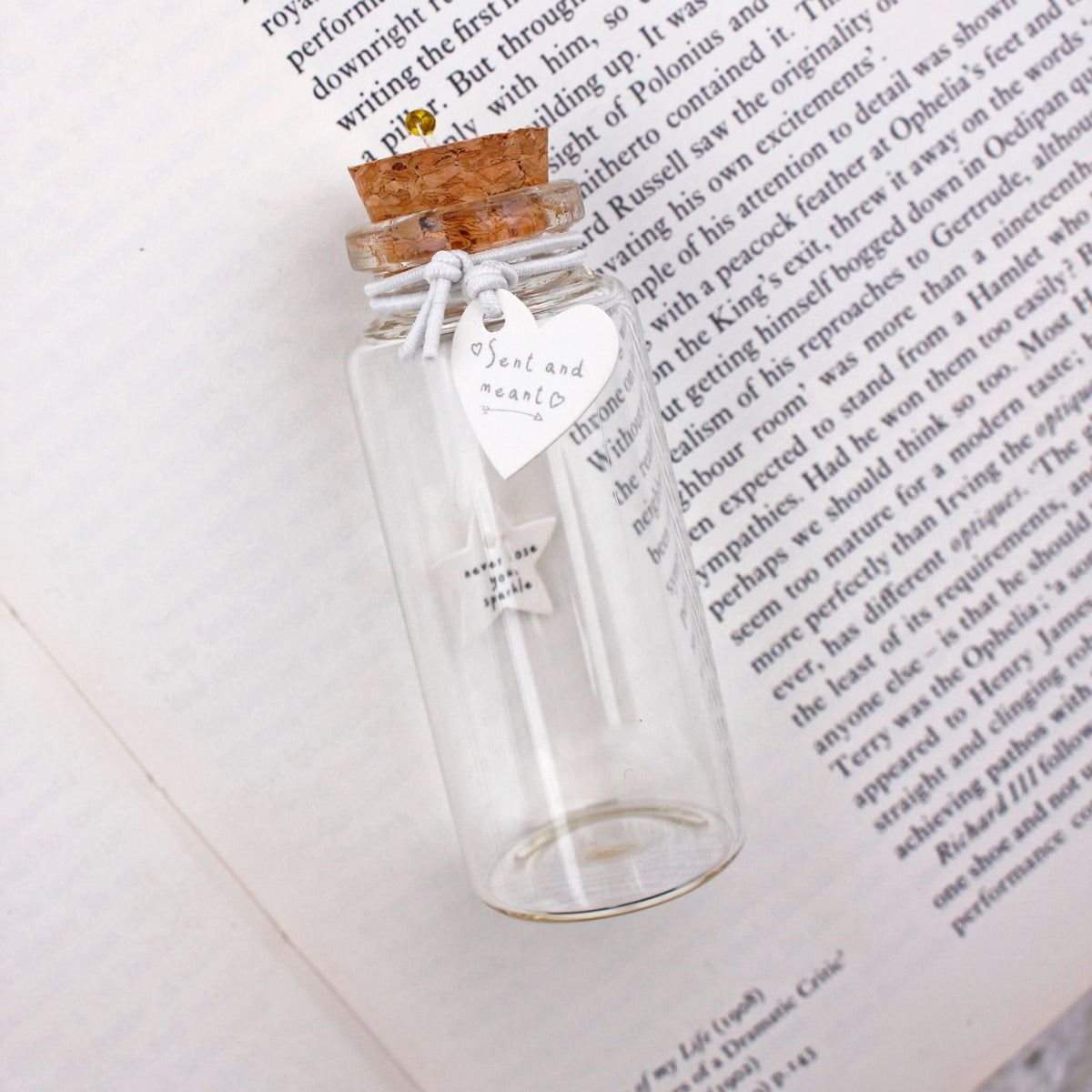 """Sent and Meant"" Message in a Bottle (assorted)"