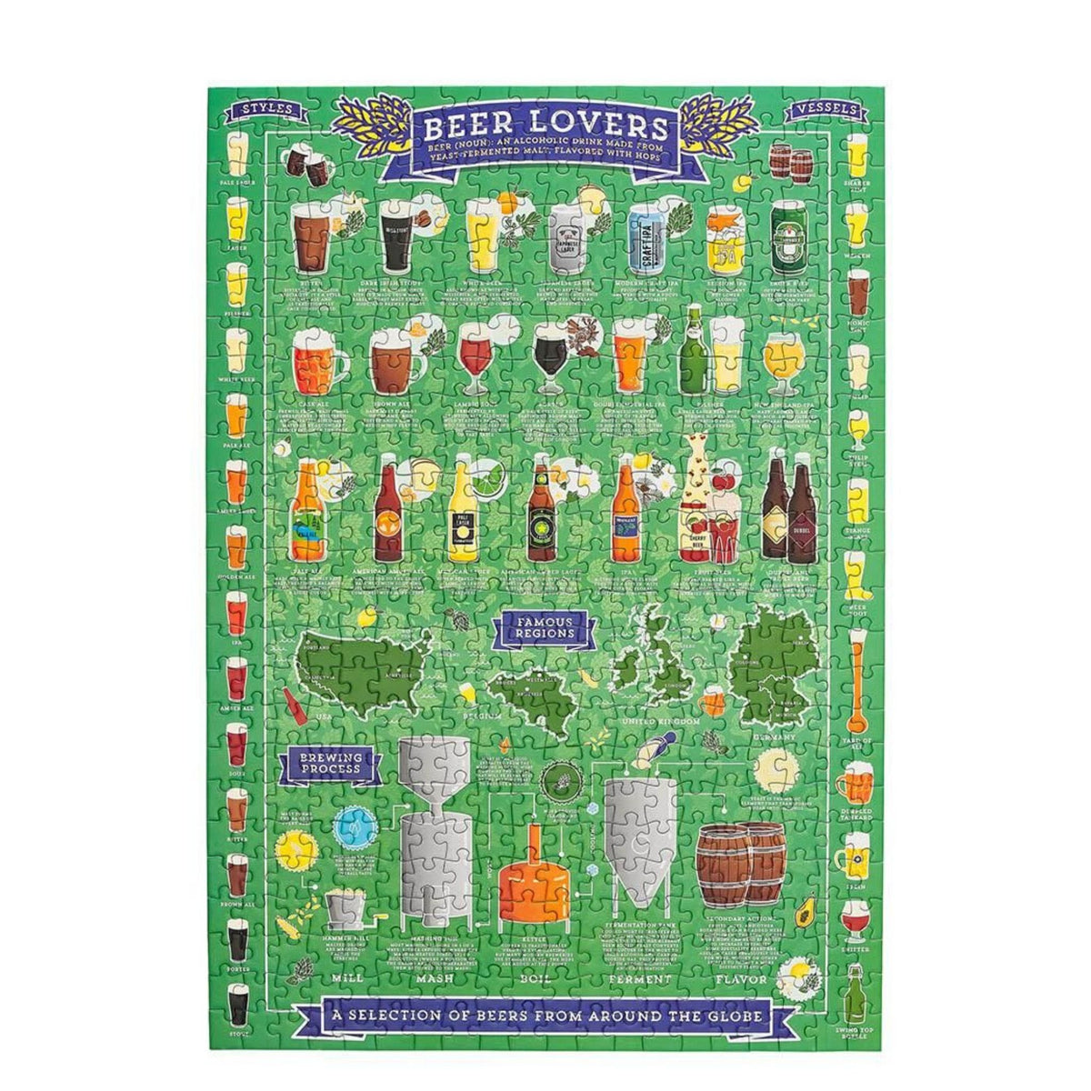 Ridley's Games Beer Lover's Jigsaw (500 pc)