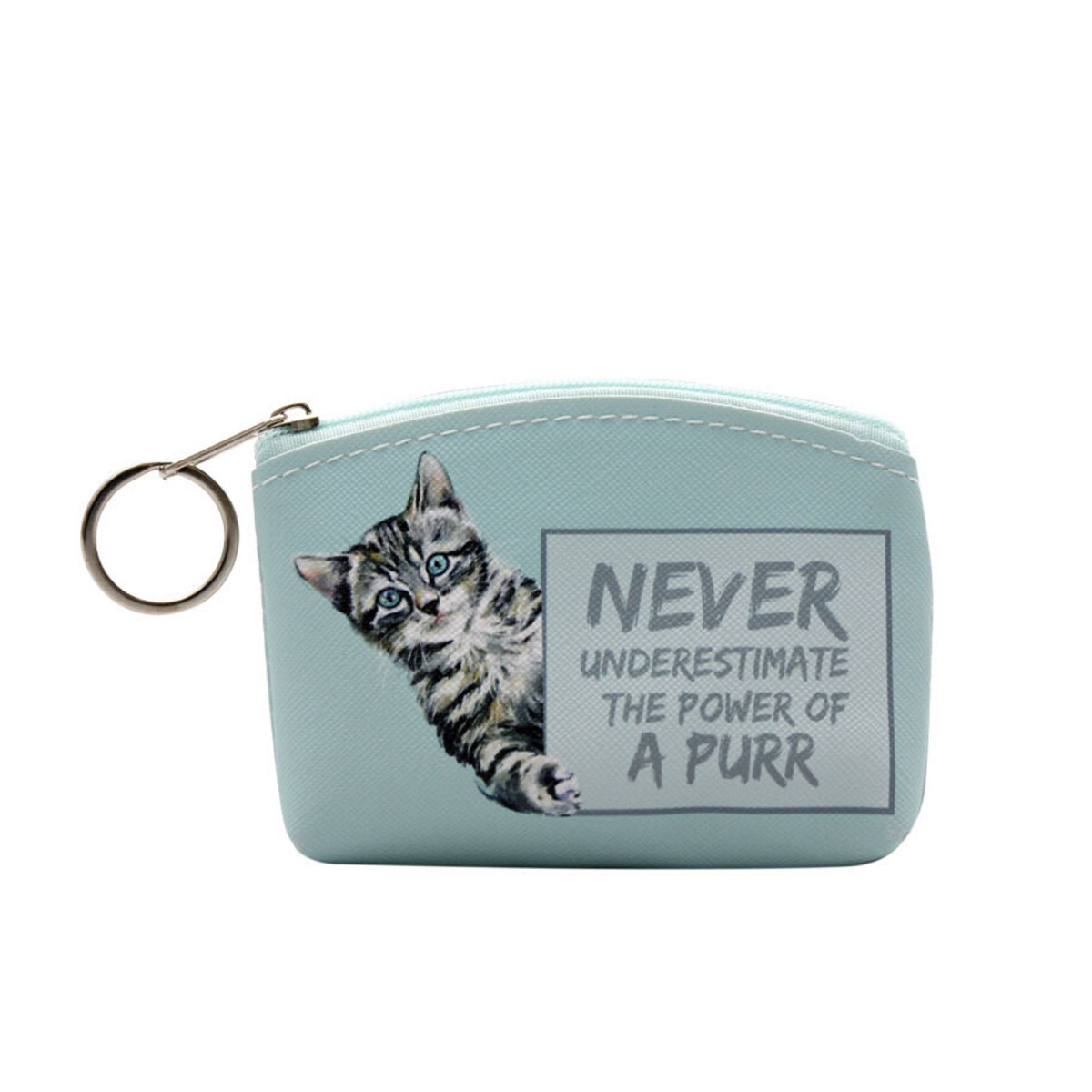 """Paws for Thought"" Cat Lovers' Coin Purses"