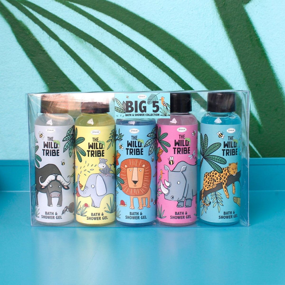 Wild Tribe Big 5 Bath & Shower Gel Gift Set