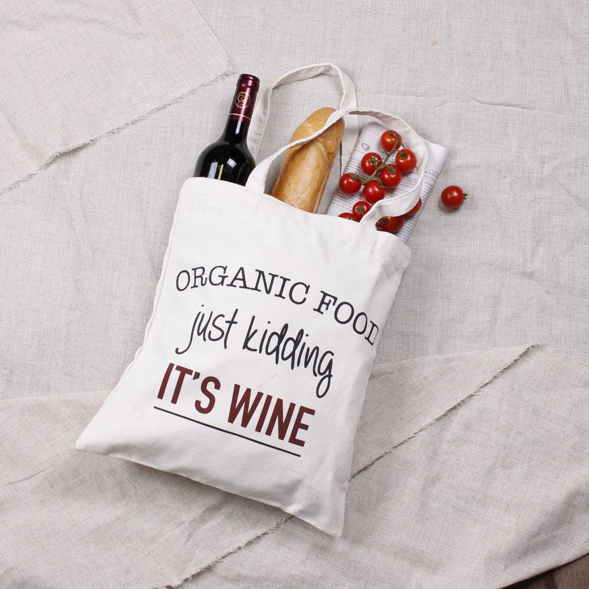 Quirky Canvas Tote Bags