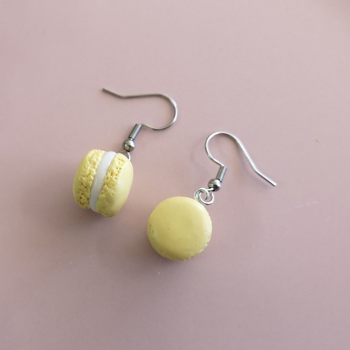 Macaron Dangle Earrings (assorted colours)