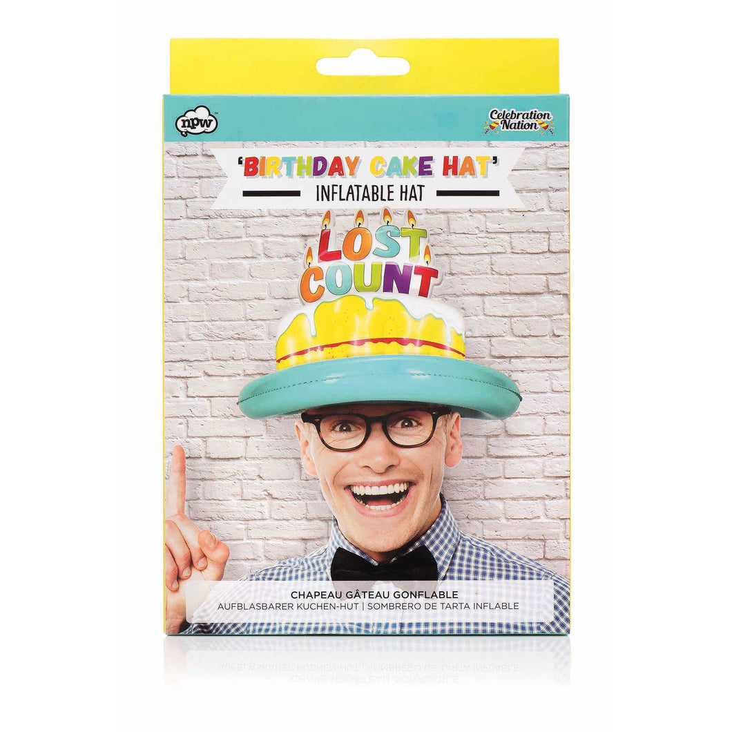 Inflatable Birthday Party Hat – Lost Count