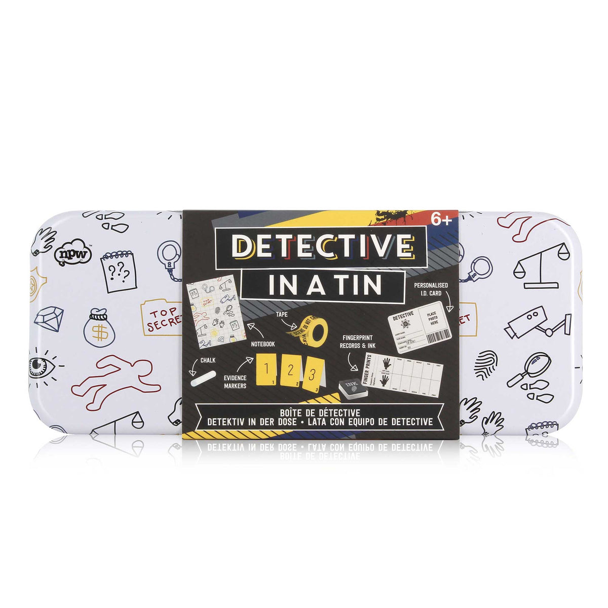 Detective in a Tin