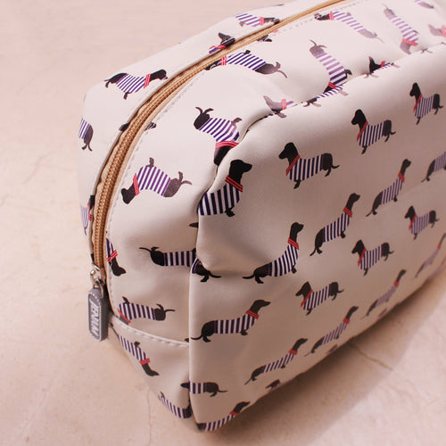 Dachshund Large Cosmetic Bag