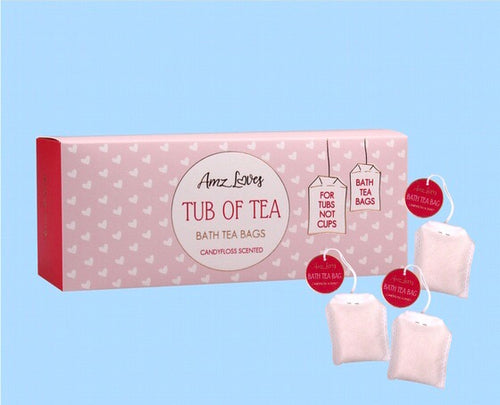 Candy Floss Scented Bath Tea Bags