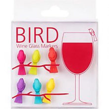 Load image into Gallery viewer, Bird Wine Glass Markers
