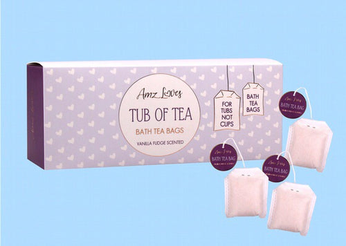 Vanilla Fudge Bath Tea Bags
