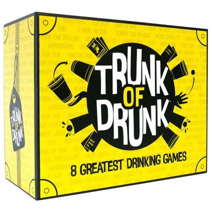 Trunk of Drunk 8-in-1 Drinking Games