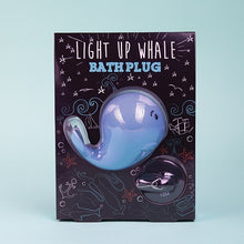Load image into Gallery viewer, Whale Light-Up Bath Plug