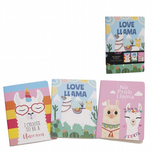 Llama notebooks (pack of three)