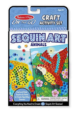 Load image into Gallery viewer, Melissa & Doug On the Go Sequin Art - Animals
