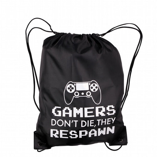Gamer Drawstring Bag