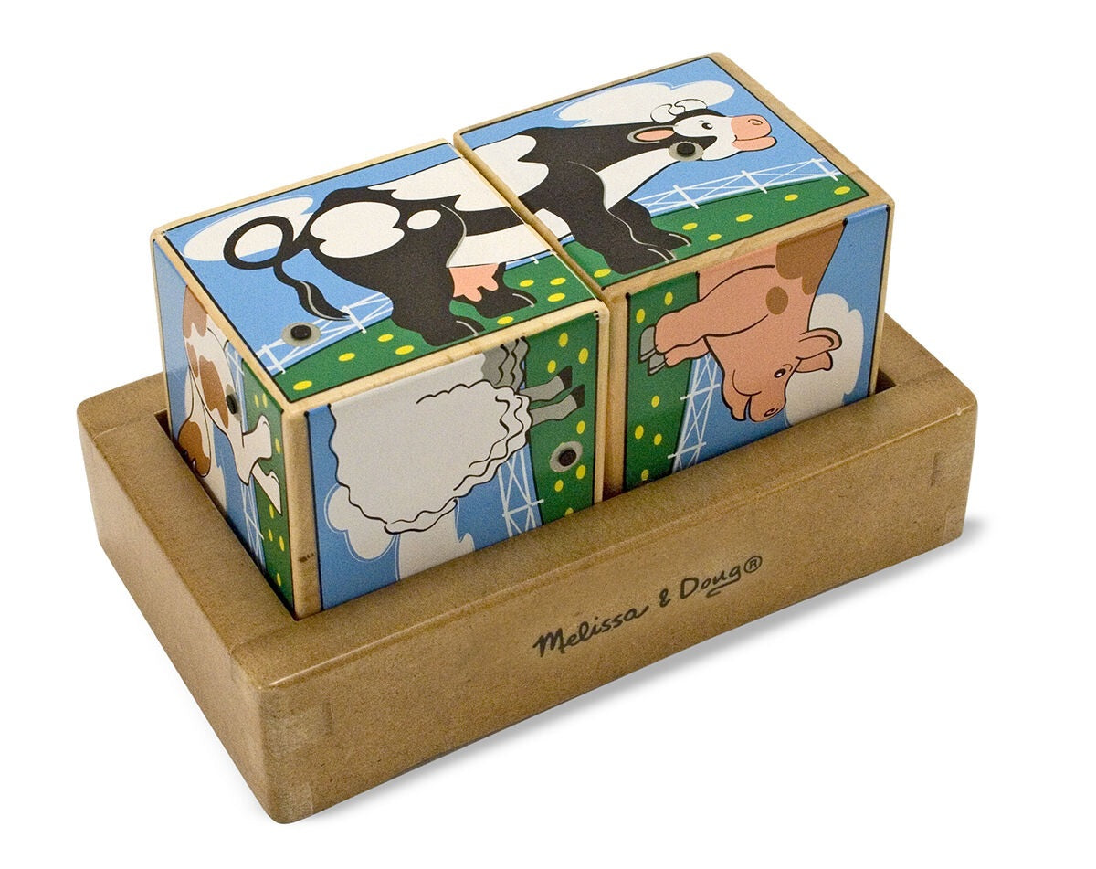 Melissa & Doug Farm Sound Block Puzzle
