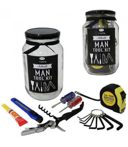Man Tools in a Jar