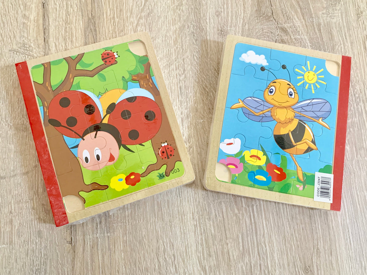 Wooden Puzzle Books