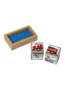 Melissa & Doug Vehicle Sound Block Puzzle