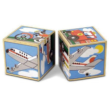 Load image into Gallery viewer, Melissa & Doug Vehicle Sound Block Puzzle