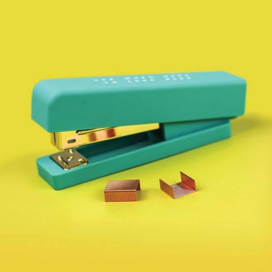 """Look Busy"" Stapler"