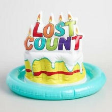 Load image into Gallery viewer, Inflatable Birthday Party Hat – Lost Count