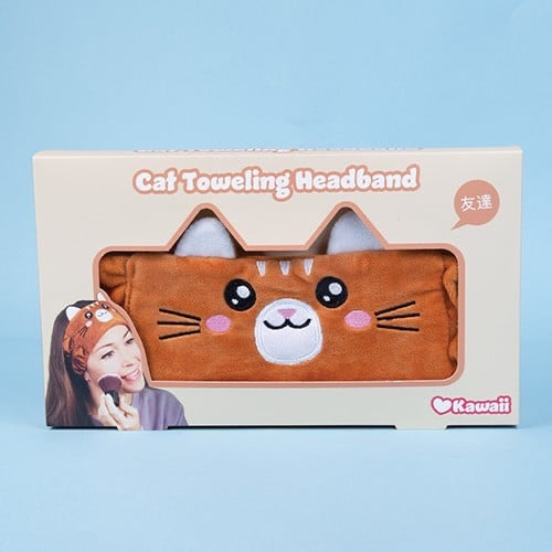 Cat Toweling Headband