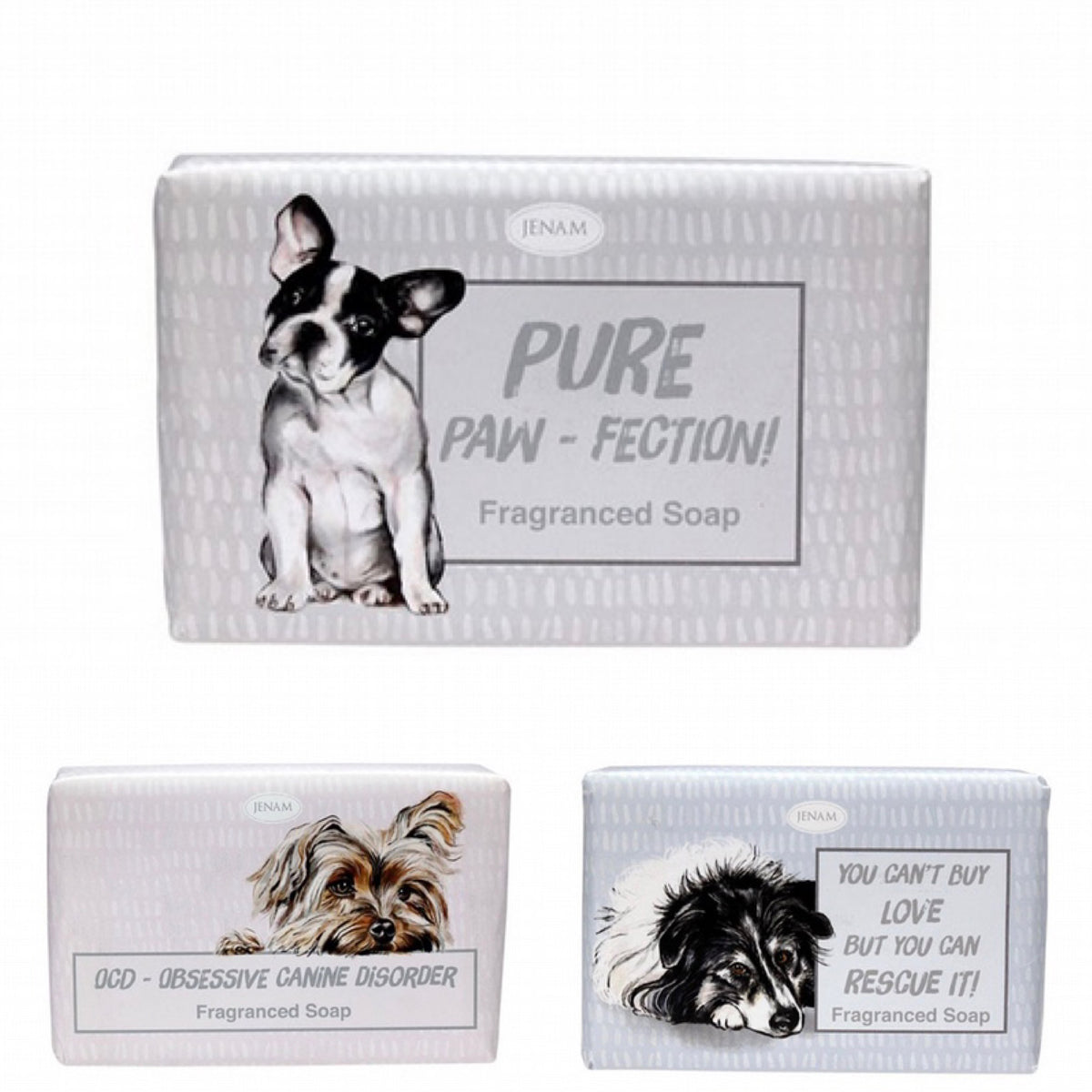 """Paws For Thought"" Dog Lovers' Fragranced Soap"