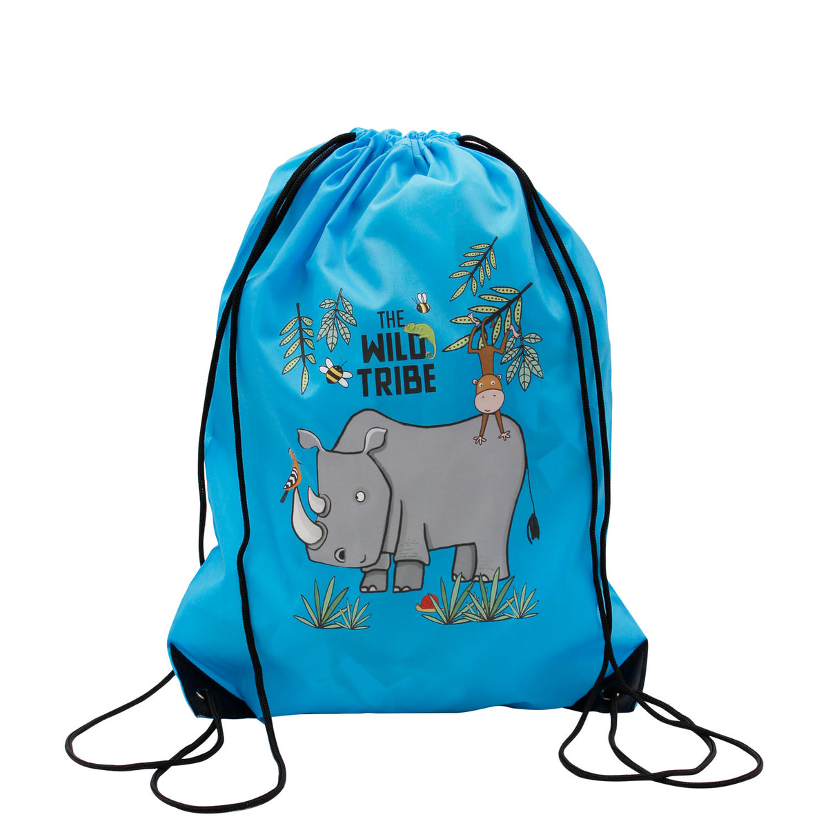 Wild Tribe Drawstring Backpack