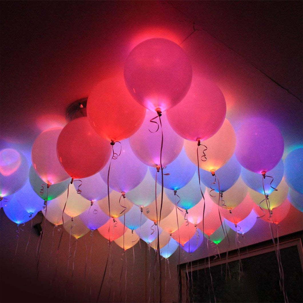 Light-up LED Party Balloons (5 pack)