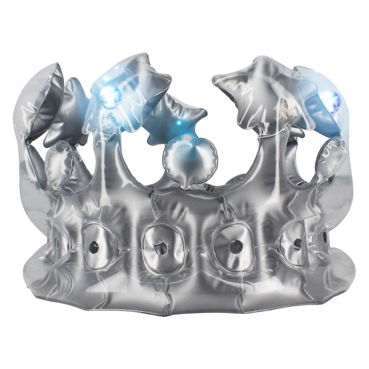 Inflatable Light-Up Party Crown