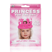 Load image into Gallery viewer, Princess for the Day Inflatable Party Hat