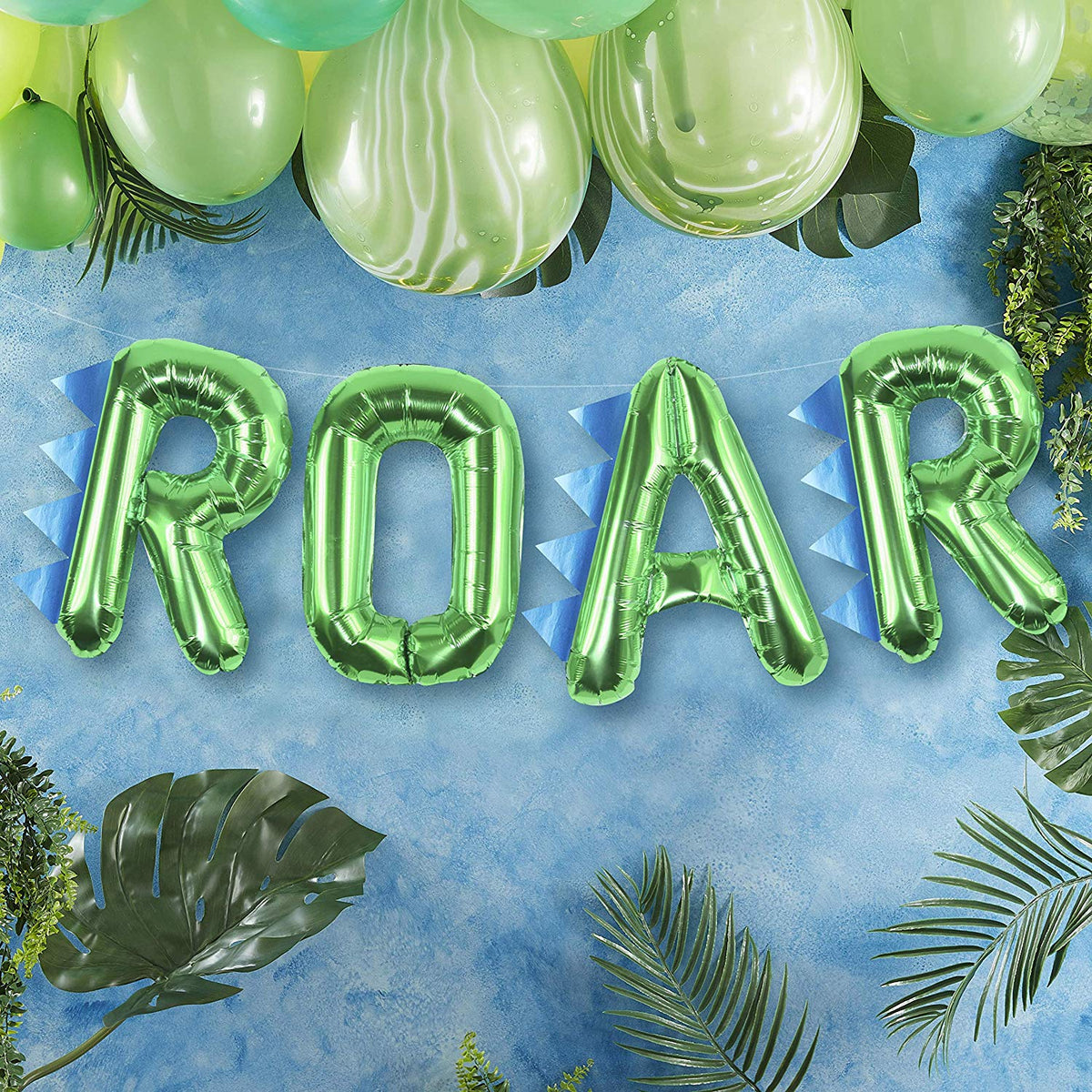 Roarsome Party - Balloon Bunting