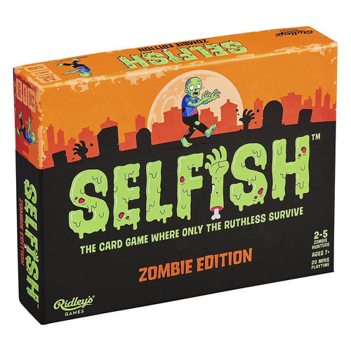 Selfish: Zombie Edition Card Game