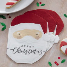 Load image into Gallery viewer, Silly Santa Paper Napkins