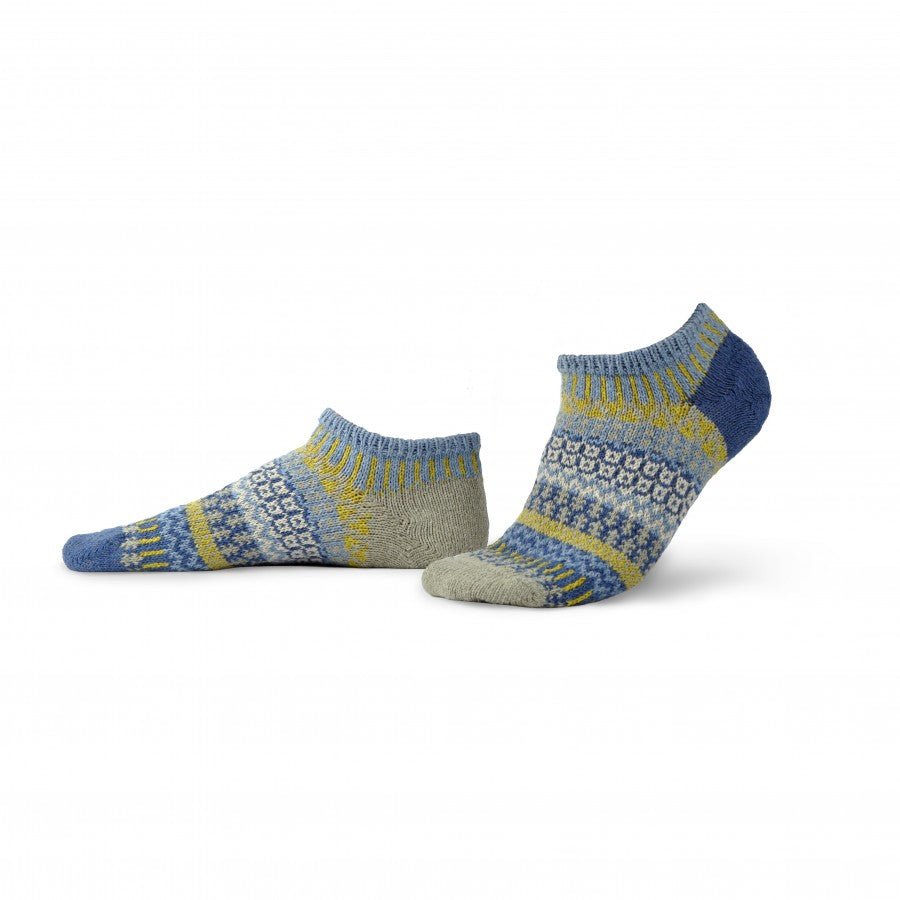 Solmate Ankle Socks, Chicory