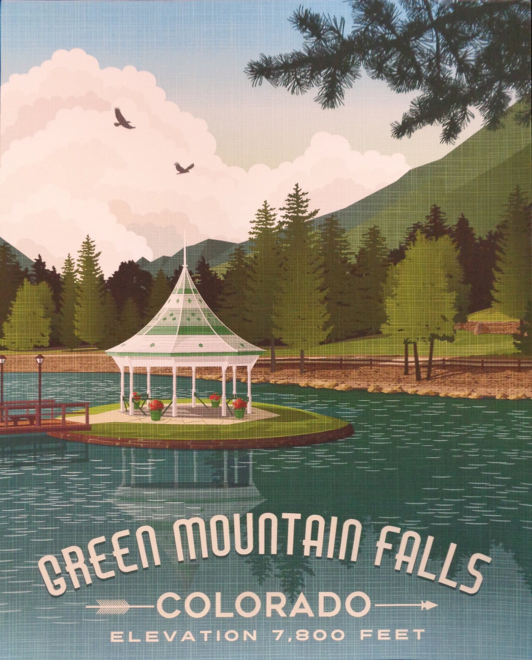 Green Mountain Falls Poster
