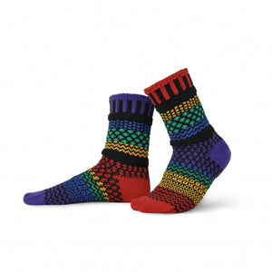 Solmate Crew Socks, Gemstone