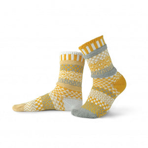 Solmate Crew Socks, Northern Sun