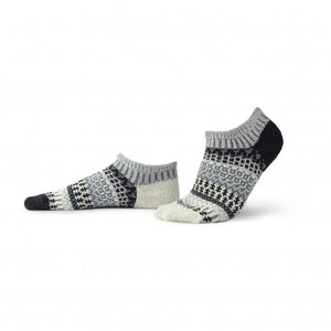 Solmate Ankle Socks, Pepper