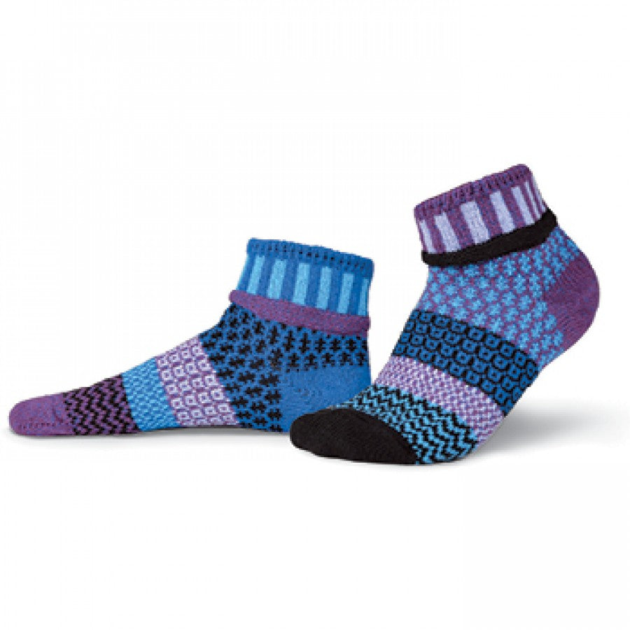 Solmate Quarter Socks, Raspberry