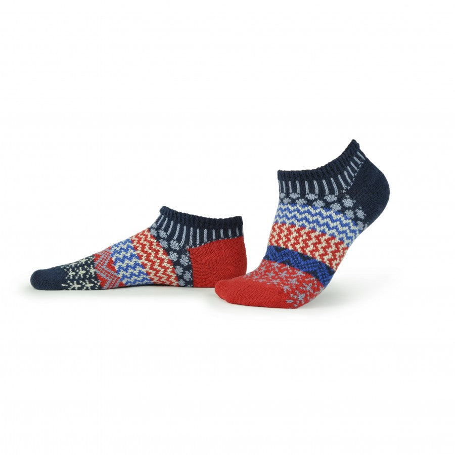 Solmate Ankle Socks, Stars and Stripes