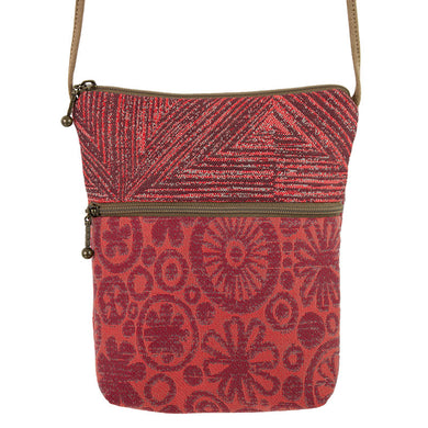 Maruca Designs, Small Crossbody, Li'l Buddy Sangria