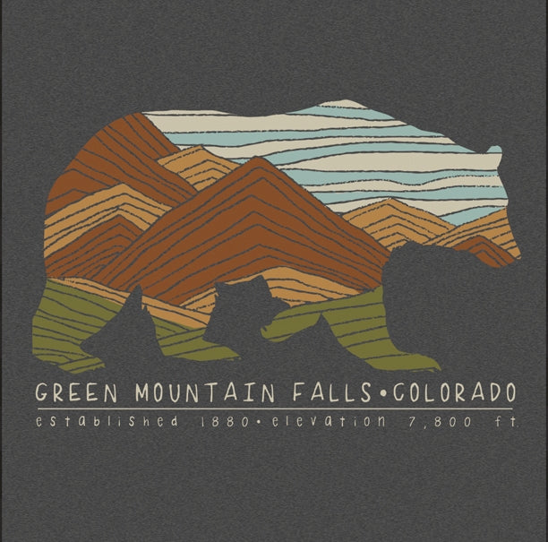 Green Mountain Falls Bear T-Shirt