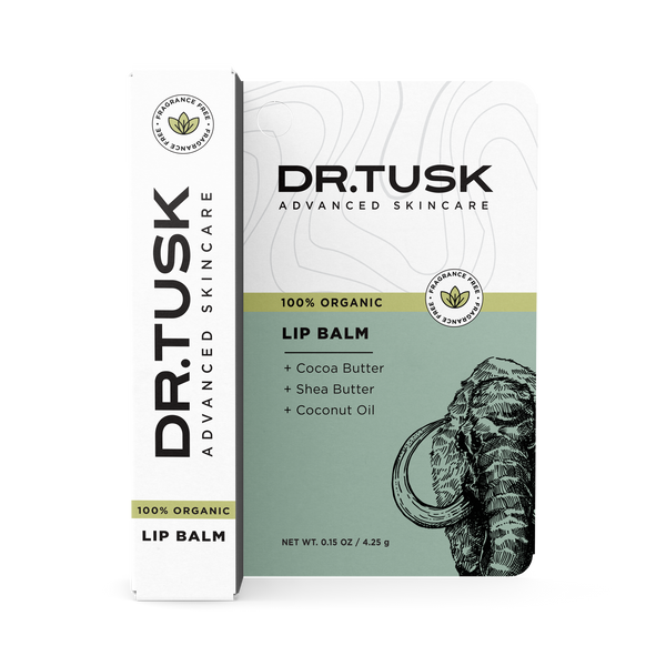 DR.TUSK ORGANIC LIP BALM | UNFLAVORED | 4-PACK