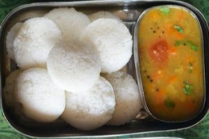 Wednesday Mini Idly - Sambar