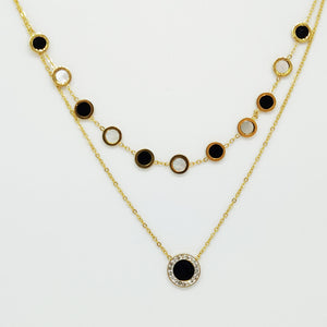 Collier Multi Cercles Romain