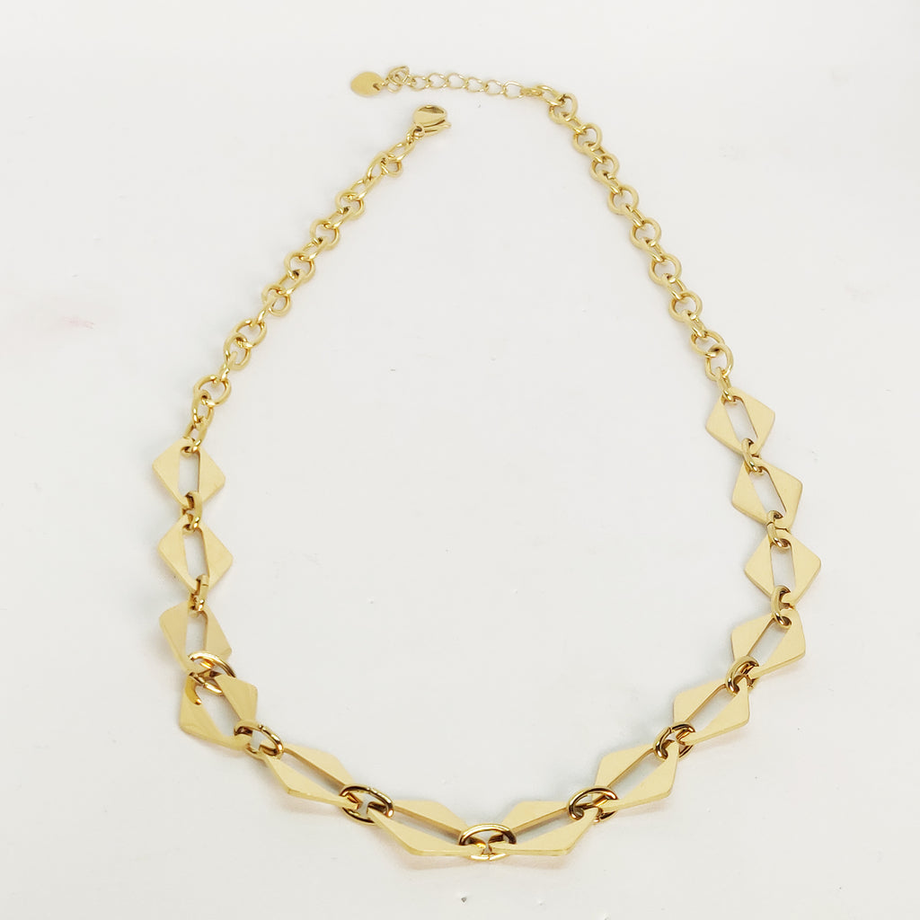 Collier Multi Losanges