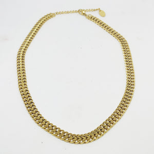 Collier Tresse Double