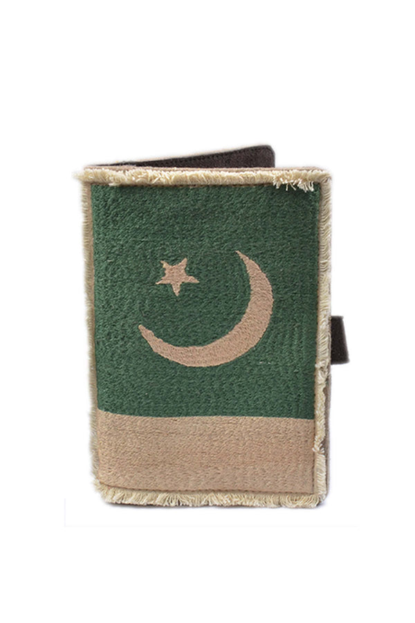 Pakistan Flag Passport Pouch