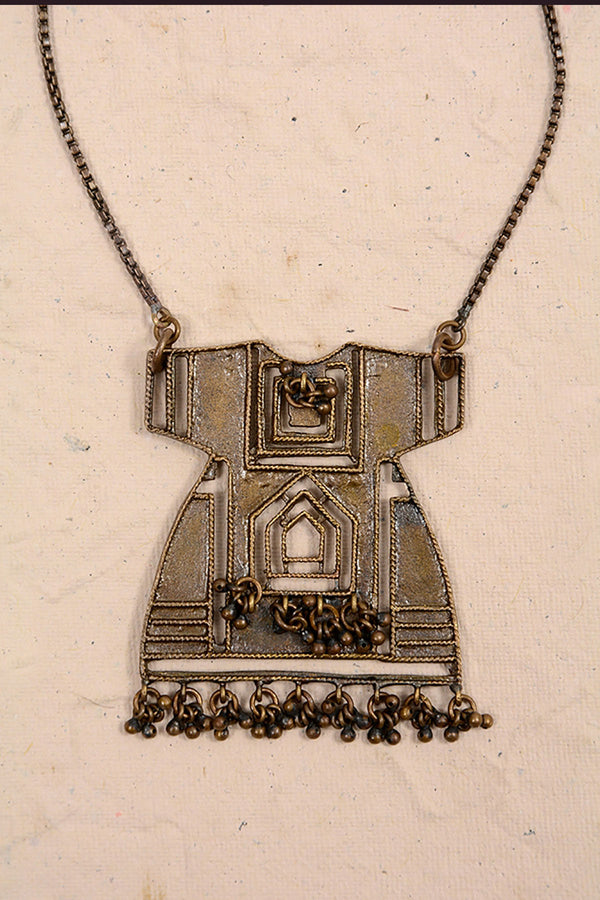 DOTCH DRESS PENDANT A - SHUBINAK.COM