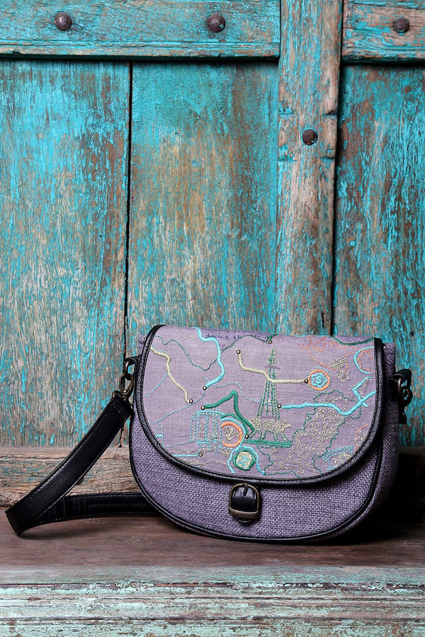 PAKISTAN UNITED TOPOGRAPHY SATCHEL - SHUBINAK.COM